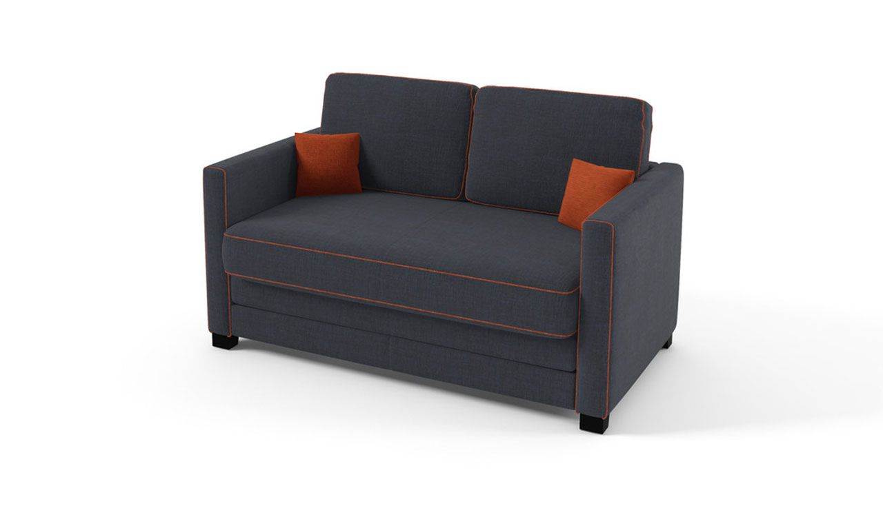 Pisa 2 Seater Sofa Bed with Stitching