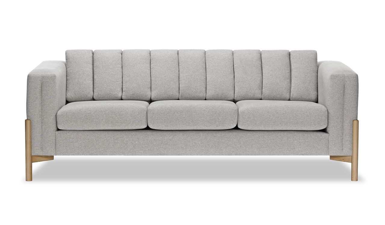 Belair 3 Seater Sofa in Dark Grey