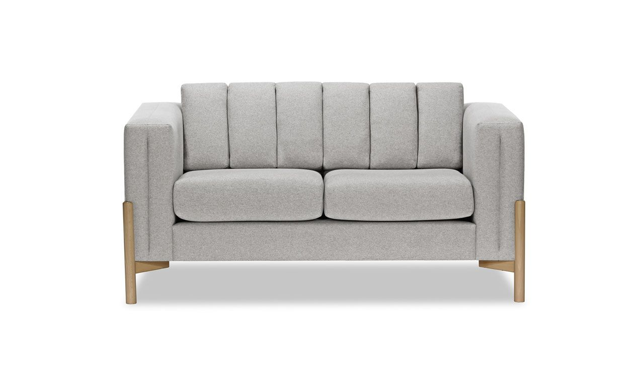 Belair 2 Seater Sofa in Light Grey