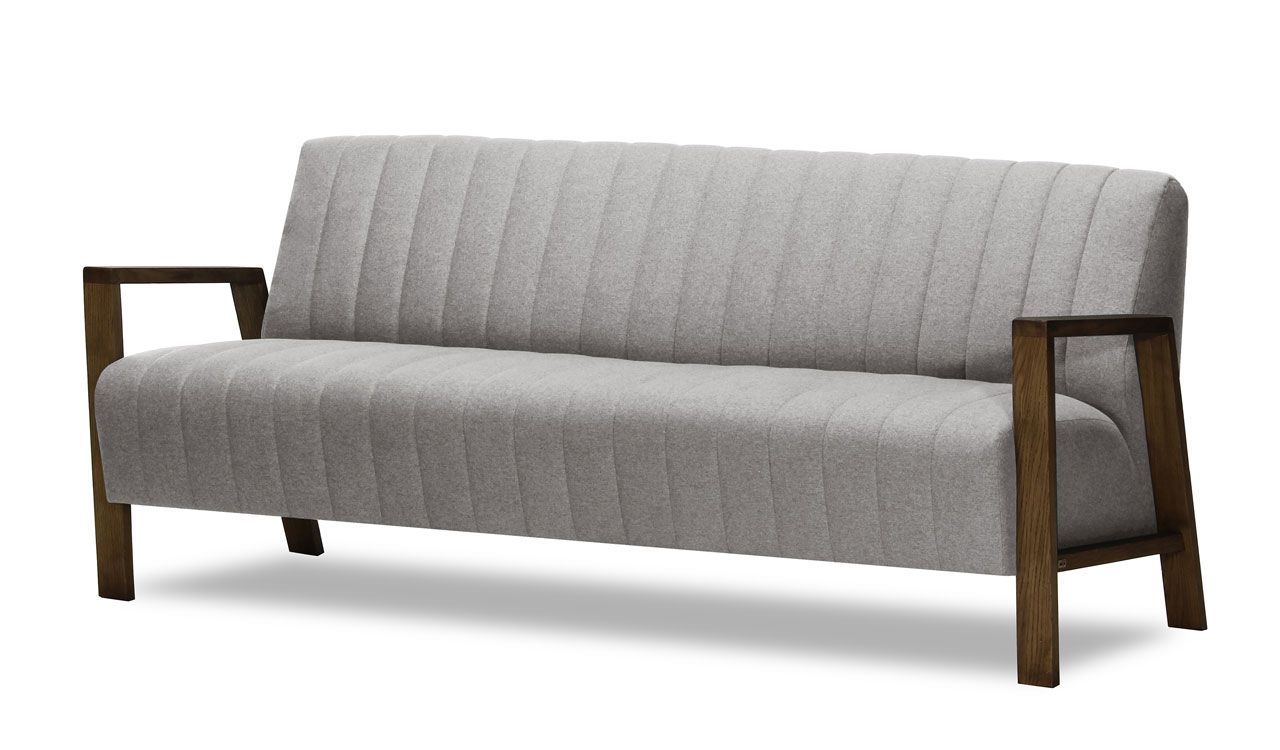 Aldebaran 3 Seater Sofa in Light Grey