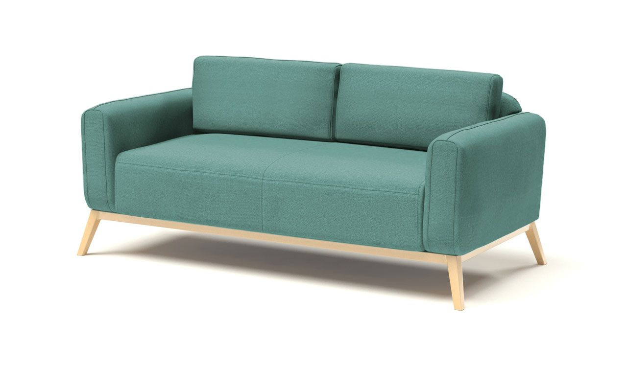 Kells 3 Seater Sofa in Light Blue