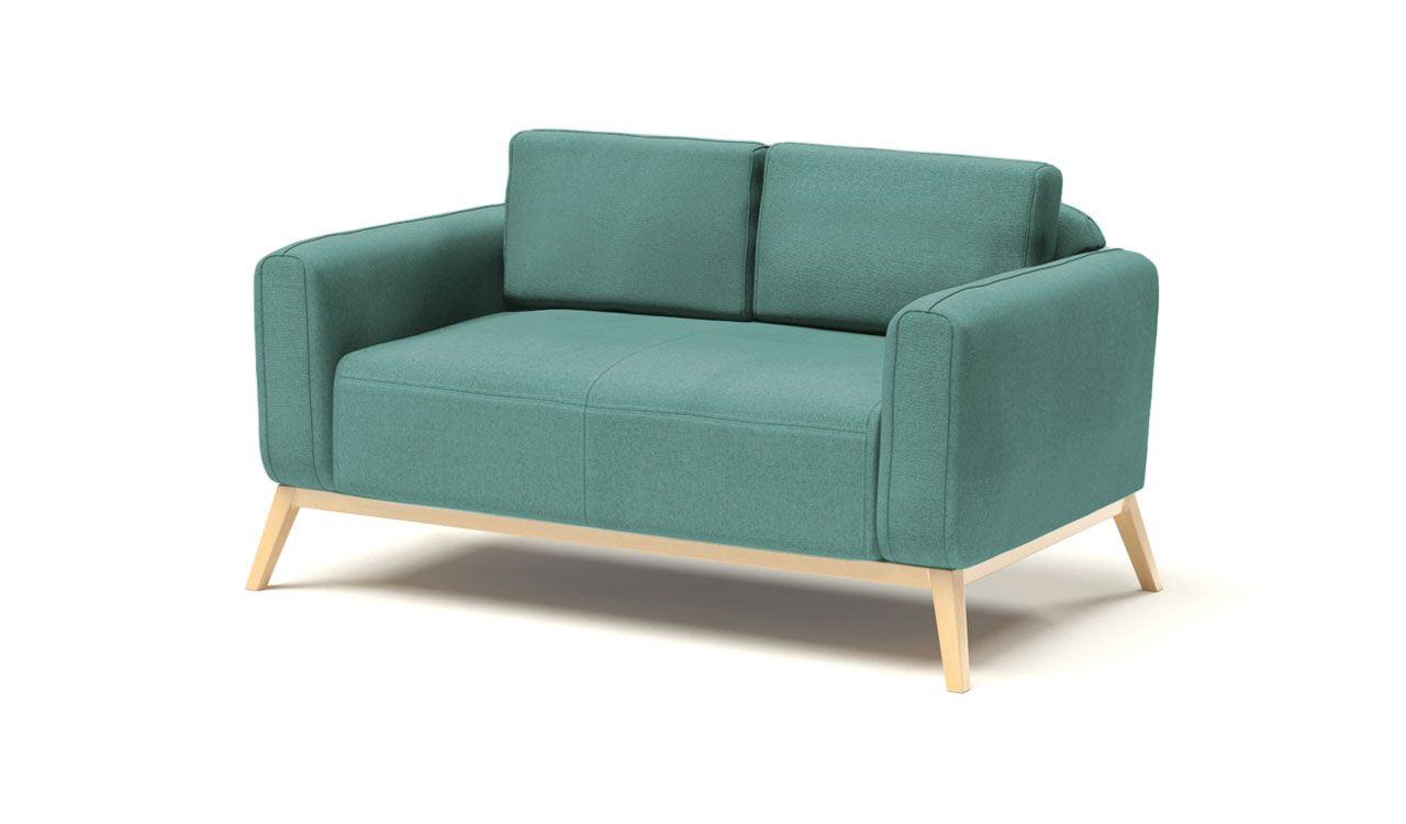 Kells 2 Seater Sofa in Light Blue