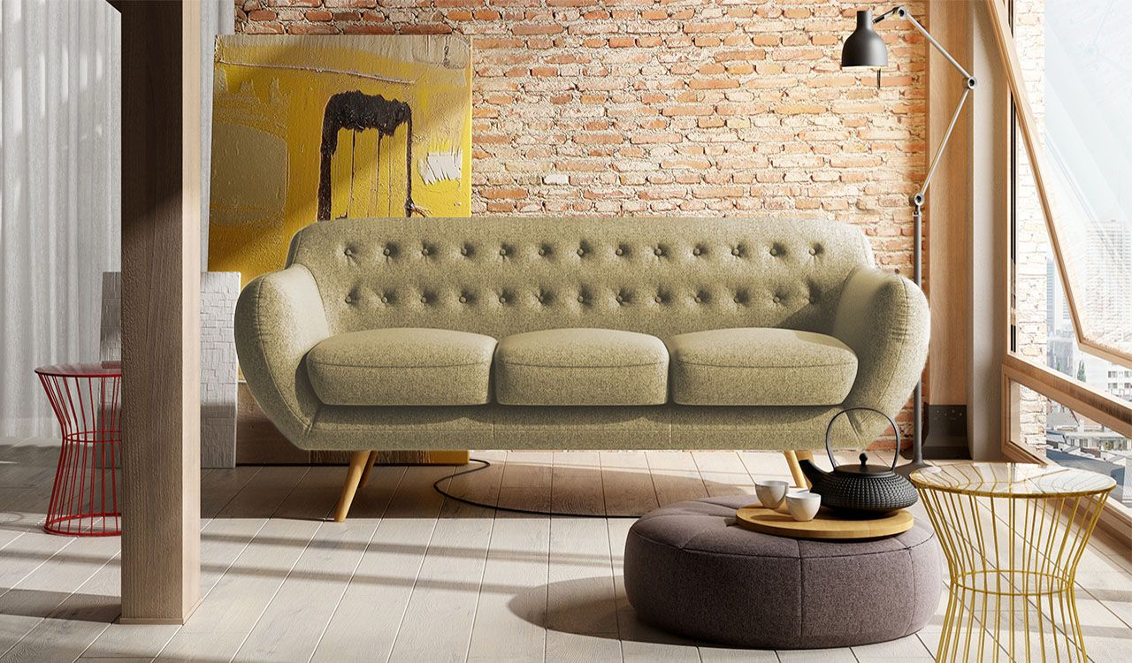 Conan 3 Seater Sofa
