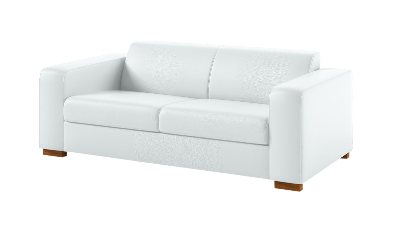 Aidan 3 Seater Faux Leather Sofa
