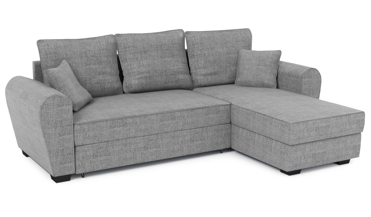 Augustus Corner Sofa Bed With Storage
