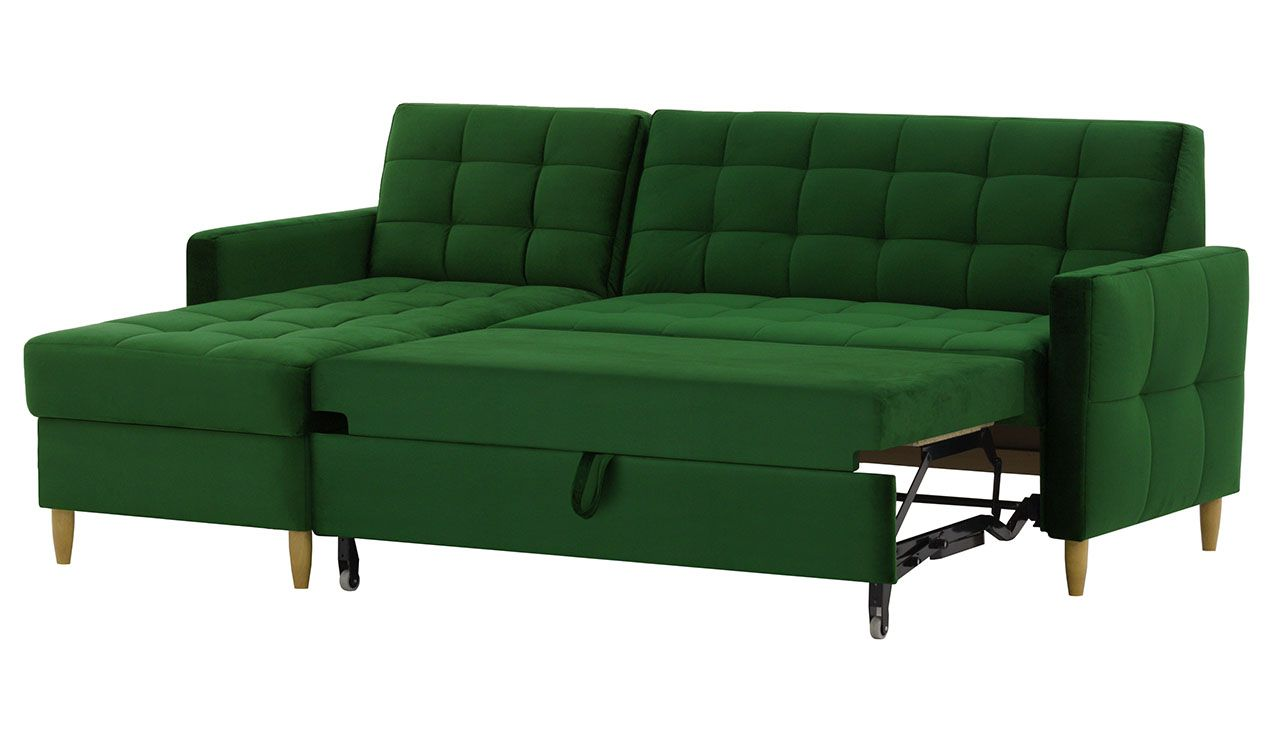 Carey Corner Sofa Bed With Storage