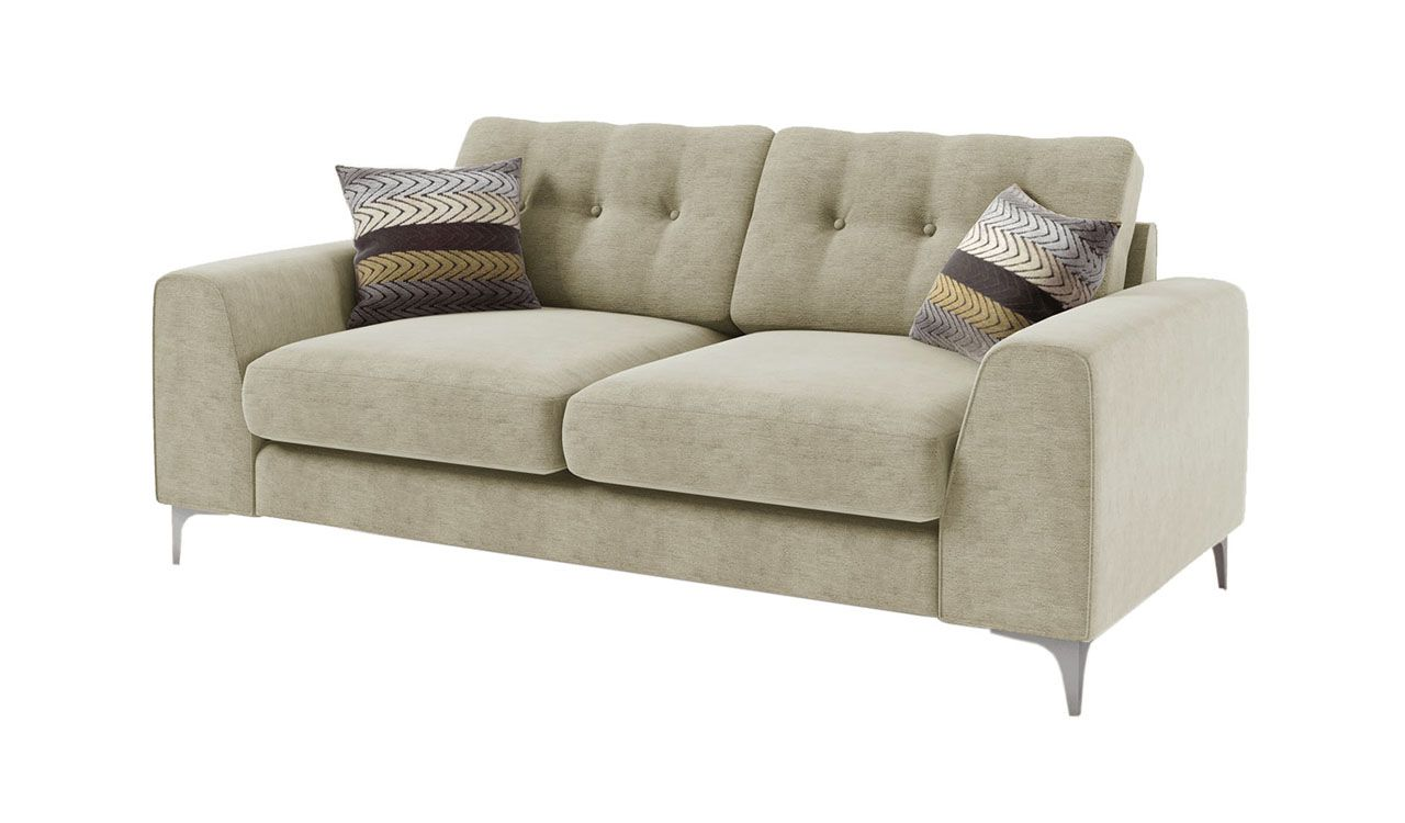 Catriona 3 Seater Sofa in Cream