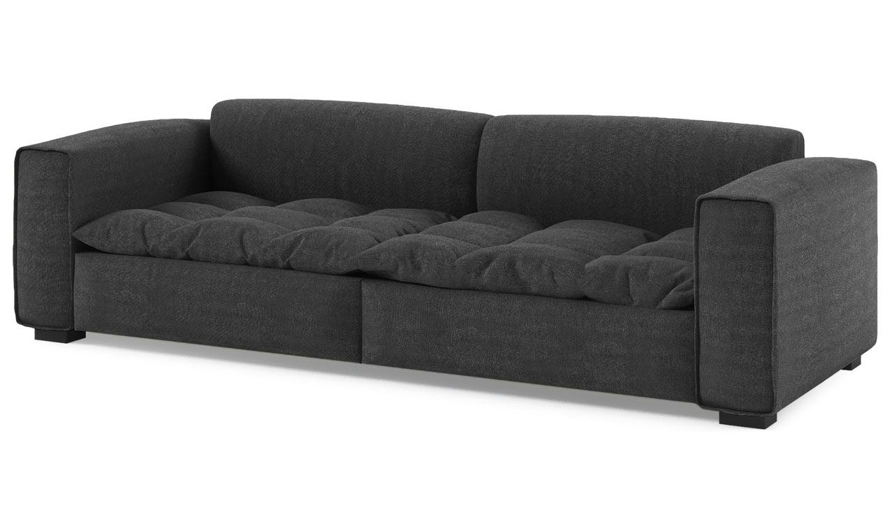 Excelsior 3 Seater Fabric Sofa