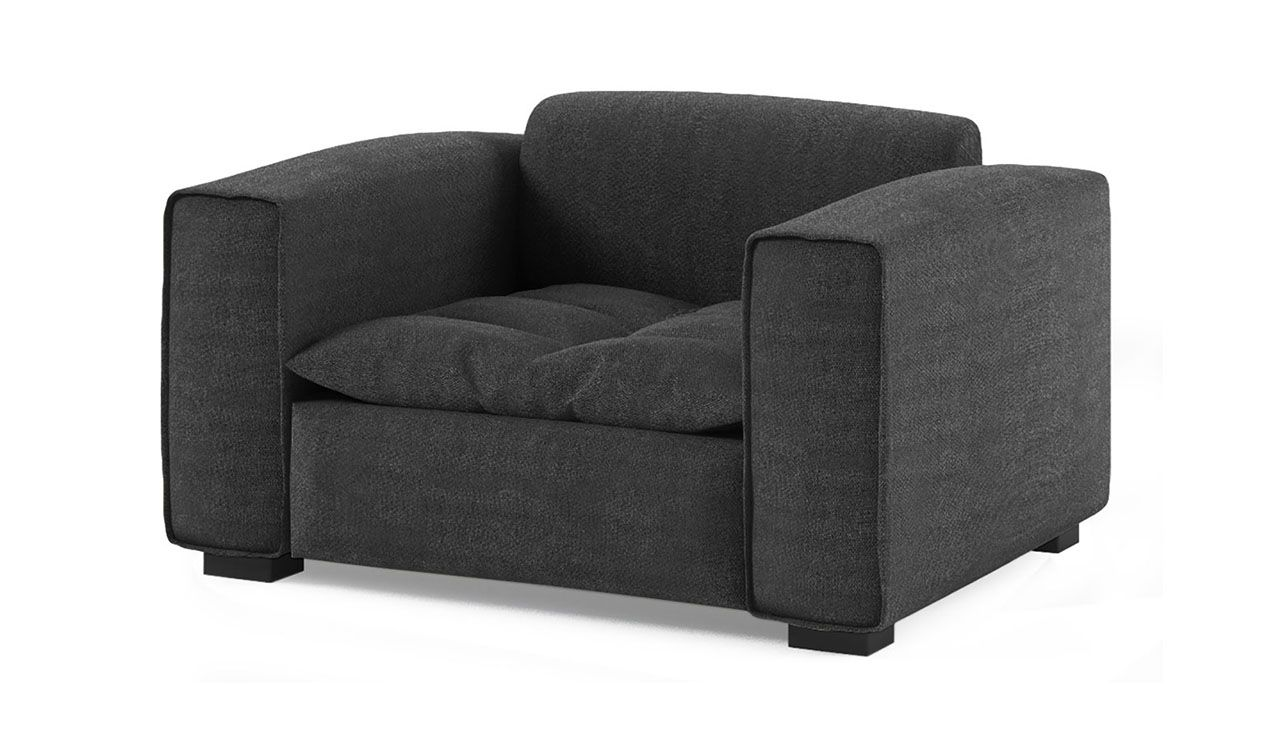 Excelsior Fabric Armchair