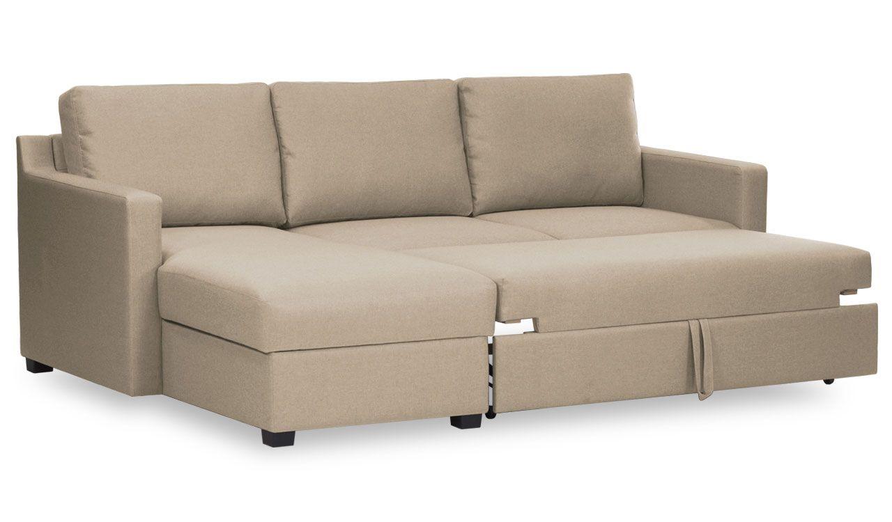 Bronagh Left Hand Corner Sofa Bed With Storage