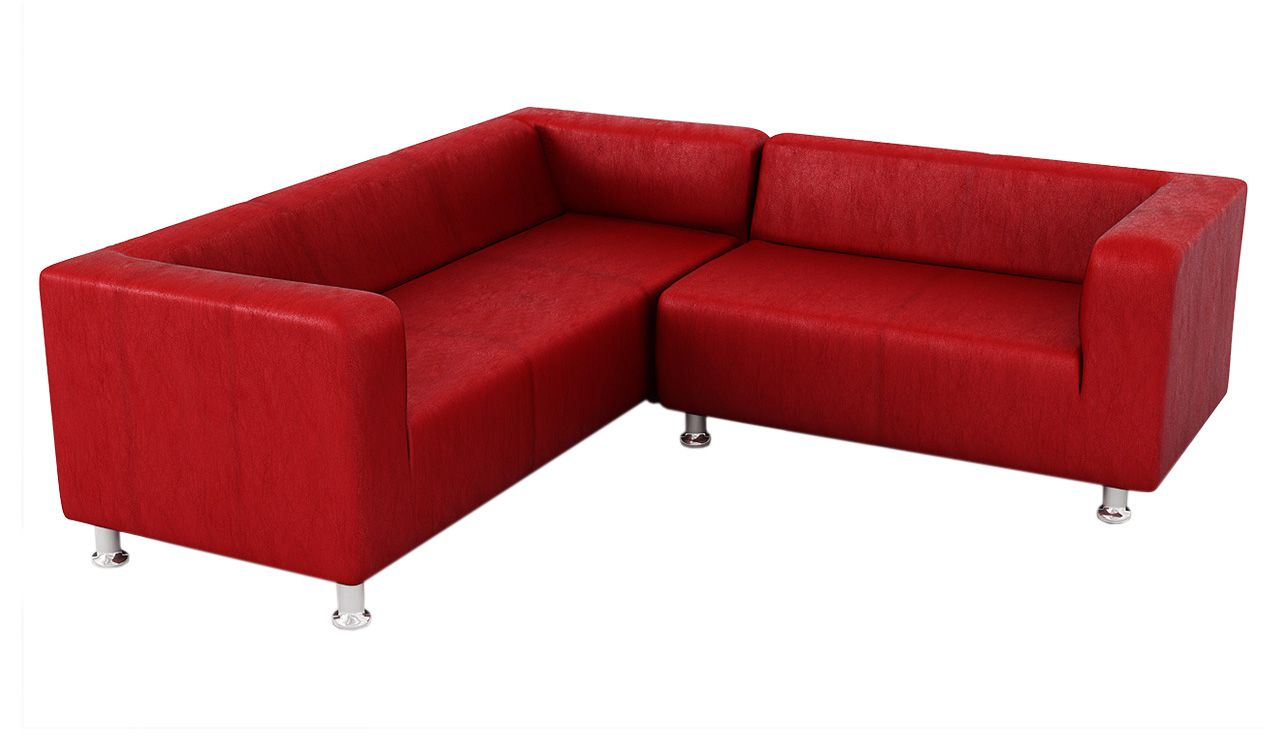 Cork Faux Leather Corner Sofa