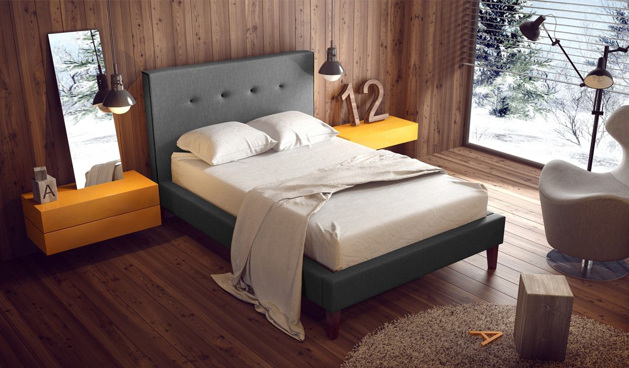 Morpheus Upholstered Bed Frame