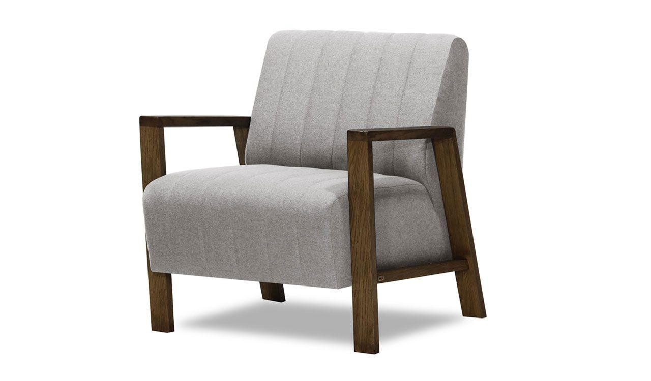 Aldebaran Armchair in Light Grey