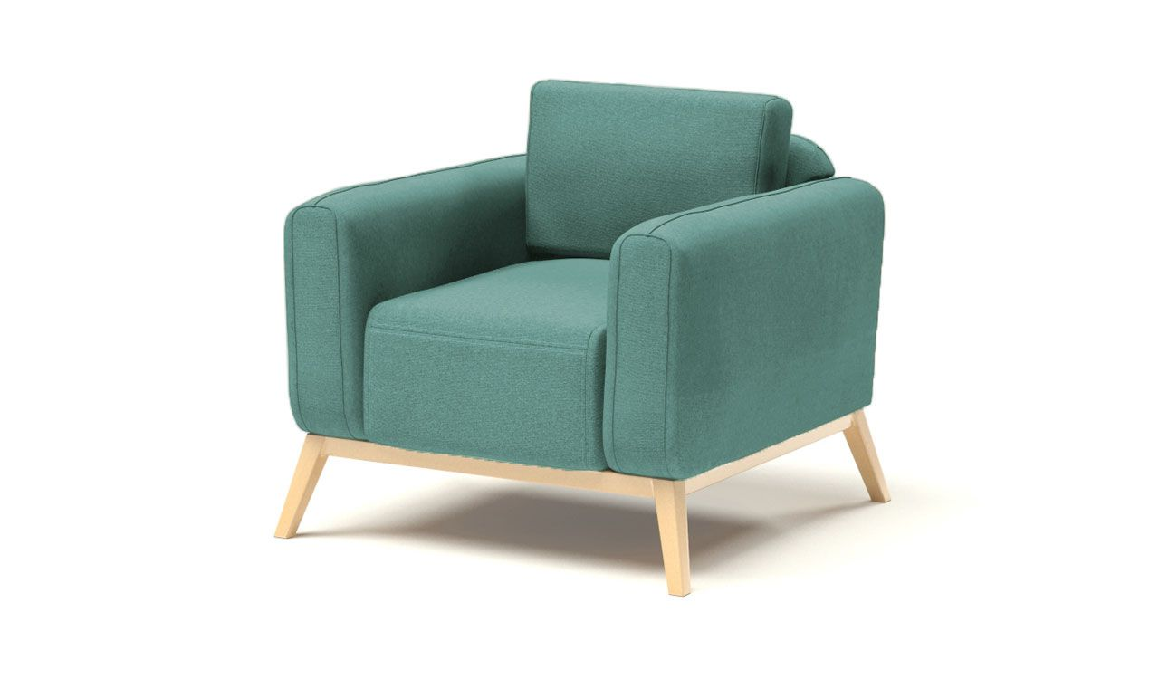 Kells Armchair in Light Blue