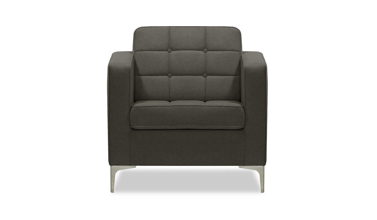 Fintan Armchair in Dark Grey